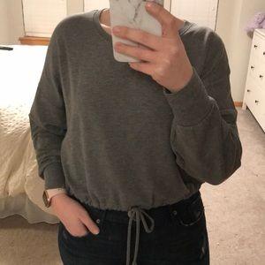 Cropped Express Sweatshirt